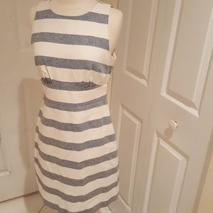 J Crew Striped Dress in size 4